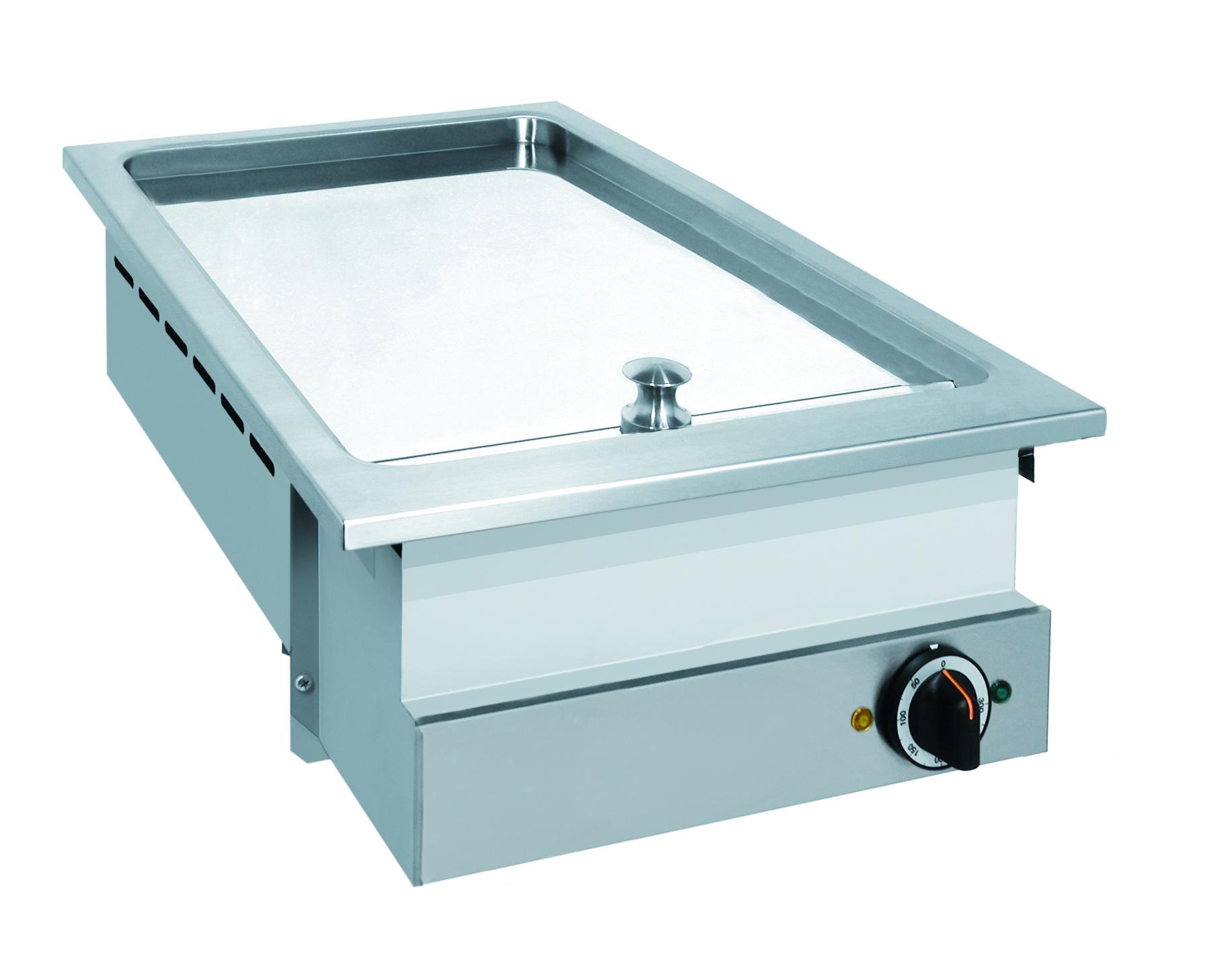 Drop-in / 400 mm glad / 5 kW