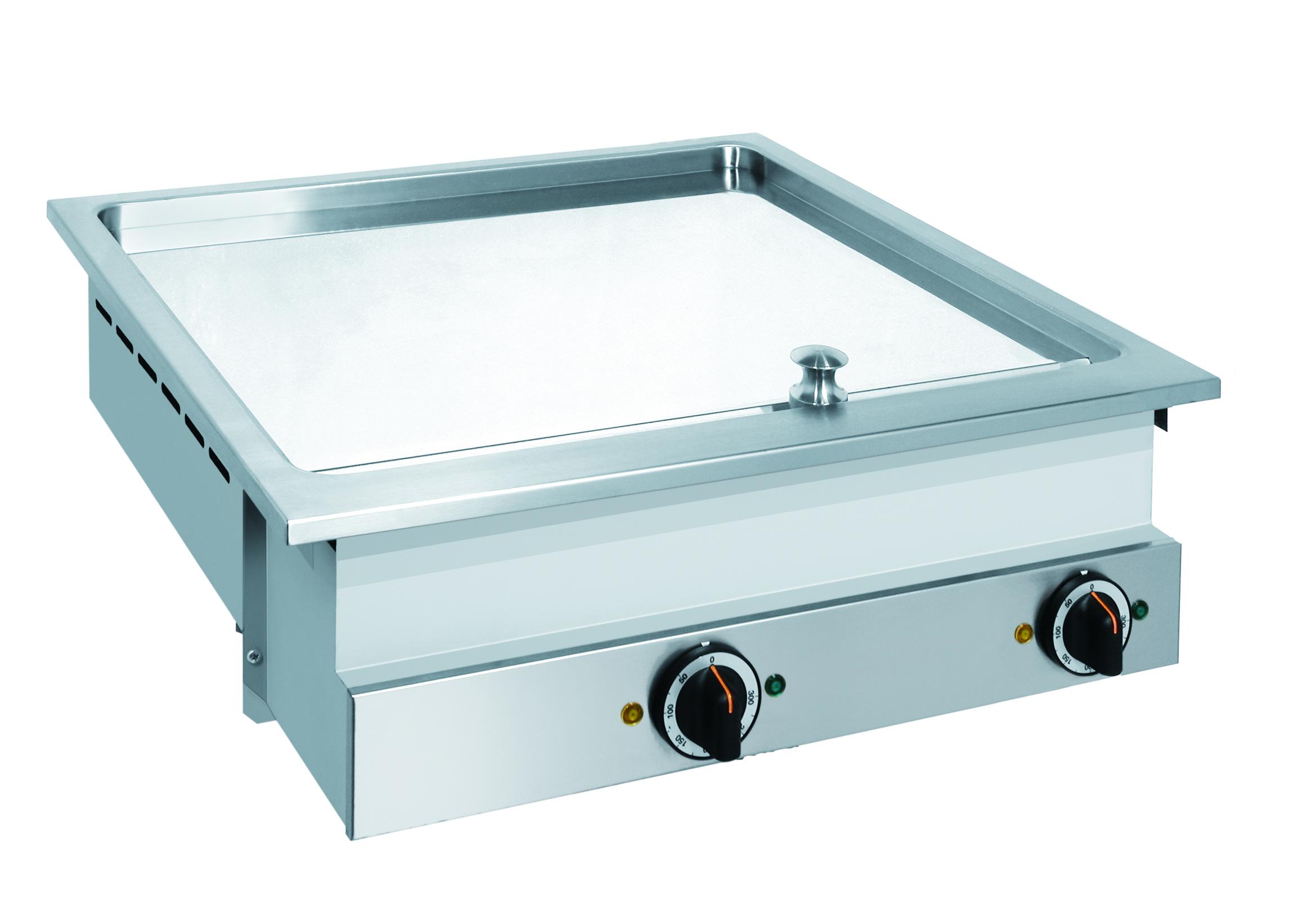 Drop-in / 620 mm glad / 6,75kW