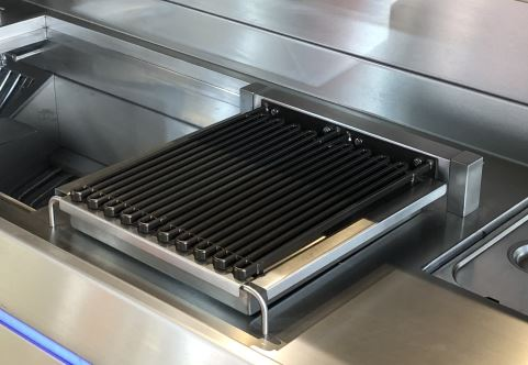 Drop-in Waterbad Grill 1 element